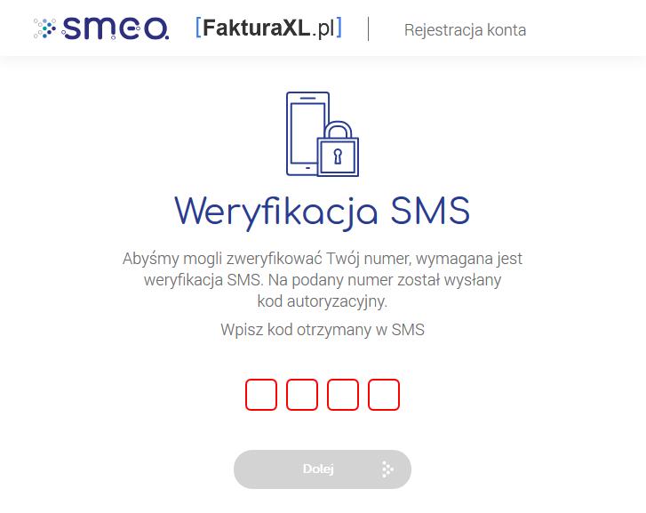 weryfikacja sms